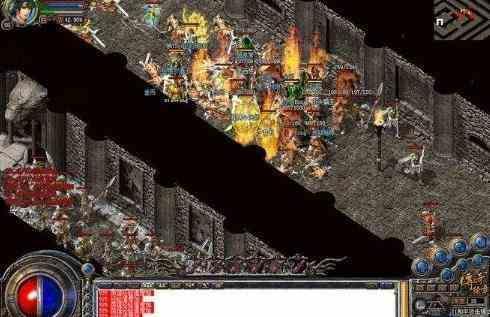 金币传奇中全面解析游戏当中的赤血龙域