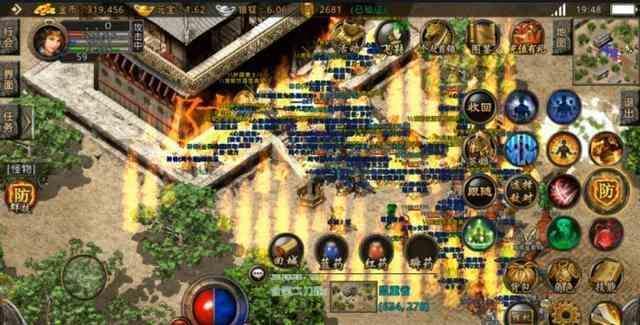 地下宫殿的今日新开传的地形介绍