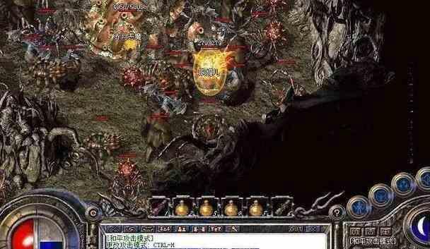 变态传奇sf中游戏中黑暗秘境玩法攻略