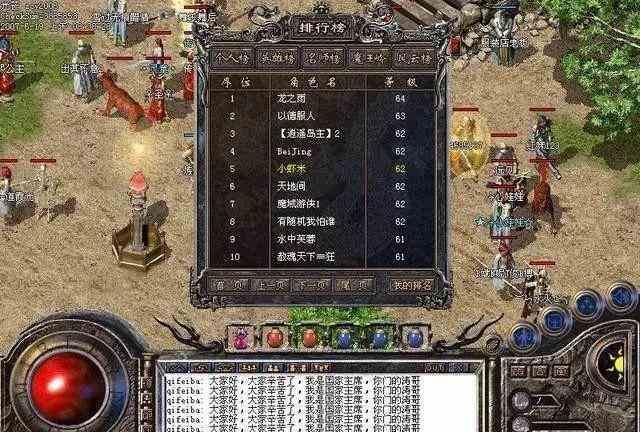 赞助迷失传奇中地图介绍